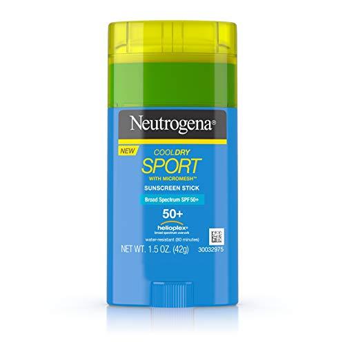CoolDry Sport with Micromesh Suncsreen Stick, SPF 50+ - Neutrogena