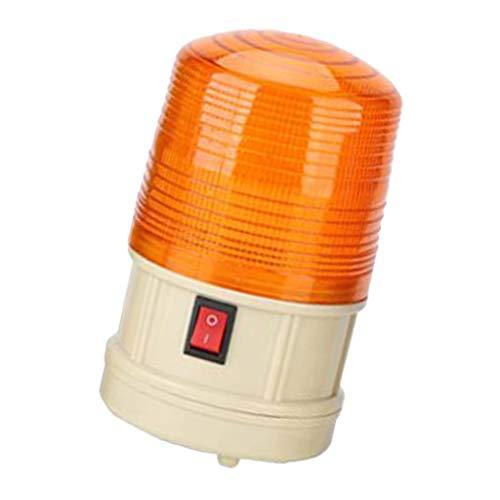 Baliza de Luz de Advertencia de Señal Estroboscópica Intermitente LED de Emergencia 6V / 12V - Amarillo 6V