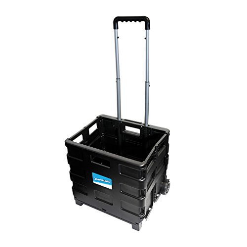 Silverline 633400 - Carretilla con caja plegable (25 kg