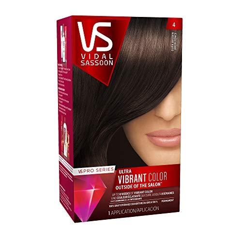 Clairol Vidal Sassoon Pro Series Hair Coloring Tools, 4 Dark Brown
