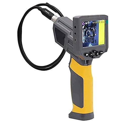 Cámara de inspección Impermeable a Prueba de Agua 1080P HD de 3,5 Pulgadas HD (con 6 Luces LED Brillantes) endoscopio Multifuncional