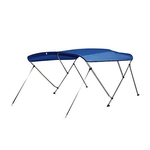 Todoneumaticas Toldo Bimini 3 Arcos Azul (A : 130x180x140 cm)