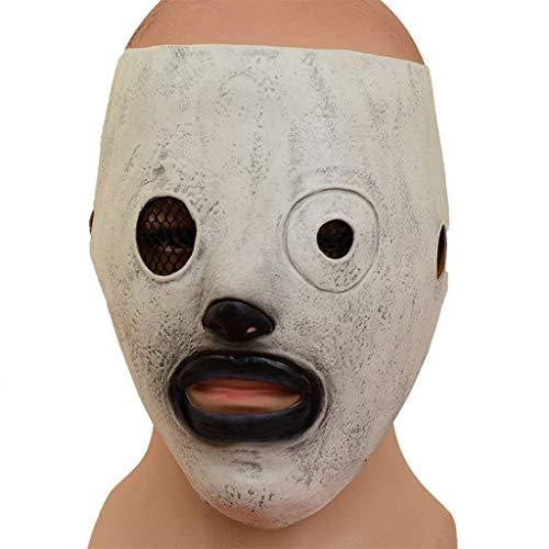 LQH Horror Corey Tapa de la Culata Completa Hombres Banda del Vestido Traje de Halloween Cosplay Atrezzo