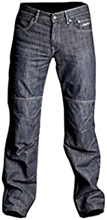 40, Reg Leg 31 Inches SuperSliderz OXFORD SS1 WORKMAN DENIM JEANS KEVLAR MOTORCYCLE PANTS MOTORBIKE TROUSERS BLUE J/&S