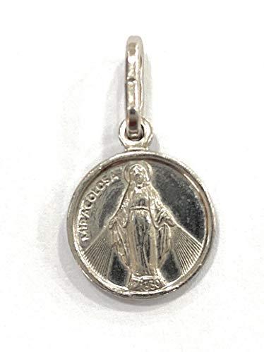 Medalla Virgen de la Milagrosa en Plata de Ley