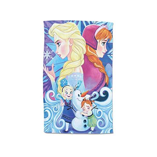 Large Puzzle Disney Friends Frozen - Juego de toallas de baño para mujer, de microfibra suave, absorbente, turbante de pelo, toalla de spa, bata de baño sin tirantes