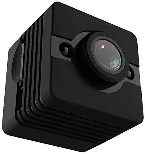 Zenghh 1080P HD Camera Mini casa Vision Motion Detection obiettivo grandangolare di sport mini videocamera HD digitale impermeabile (Nero)