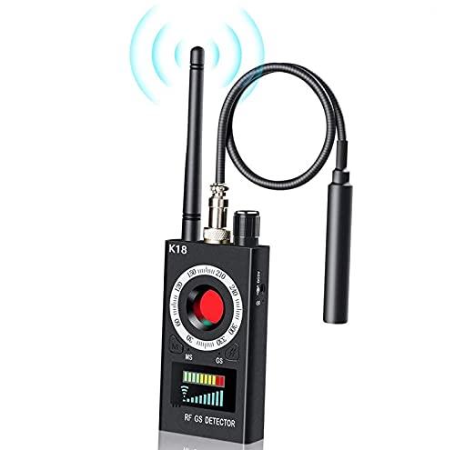 RUIZHI Anti Spy Detector de RF Detector de Errores inalámbrico Señal para cámara Oculta Lente láser Buscador de Dispositivos gsm Buscador Radar Radio Escáner Señal de Alarma inalámbrica