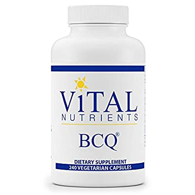 Vital Nutrients - BCQ (Bromelain, Curcumin and Quercetin) - Herbal Support for Joint, Sinus and Digestive Health - 240 Capsules per Bottle