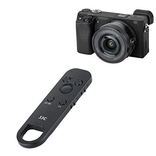 JJC RMT-P1BT Funkfernbedienung für Sony ZV-1 A7C A7RIV A7SIII A9II RX100VII A6100 A6600 Kamera (auch für Sony A6400 A7RIII A7III A9 RX0II Kamera mit Firmware-Update)