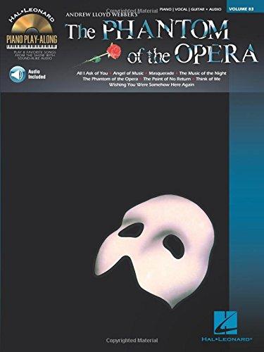 Phantom of the Opera: Piano Play-Along Volume 83