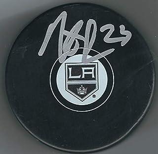Autographed Dustin Brown Los Angeles Kings Hockey Puck