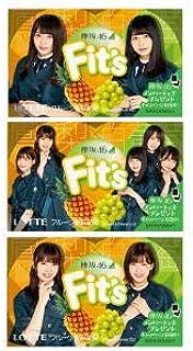 ロッテ Fit's (フィッツ) 欅坂46 鳳梨×白葡萄 12枚×10個
