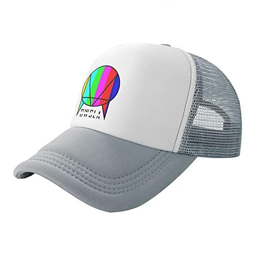 Gsdgjgg Owsla Skrillex Hat Adjustable Baseball Cap Printed Hat for Men Women Gray