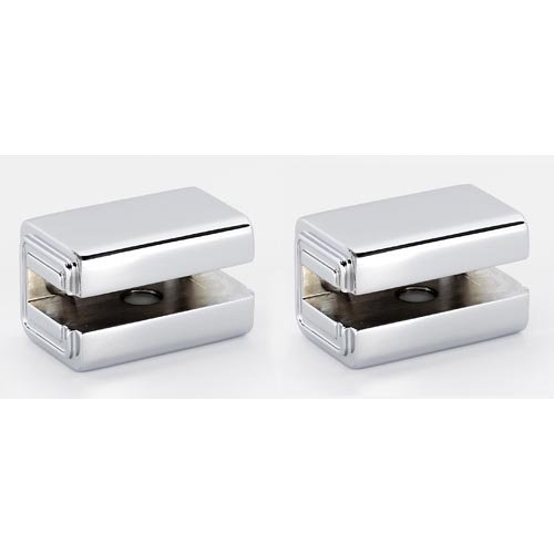 Alno Cube Series Shelf Brackets Only (Priced per Pair) - Polished Chrome