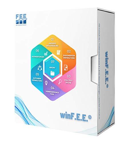 winF.E.E. Qualitätsmanagement Software | Mietlizenz | 1 Jahr | 1-10 user | inkl. Support