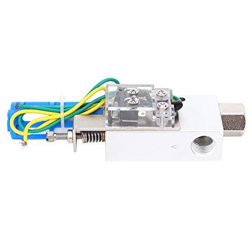 Generatore di vuoto, G1/4 Generatore di vuoto in lega di alluminio con filtro pneumatico, Pressostato negativo, CV-15HS-CK, Adatto per adsorbimento di materiali fragili, morbidi e sottili
