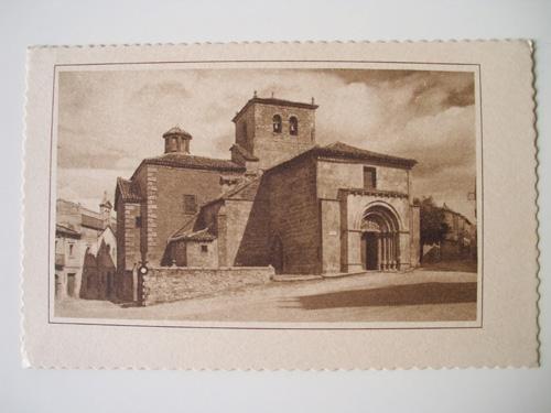 Antigua Postal - Old Postcard : SORIA - Iglesia de San Juan de Rabanera