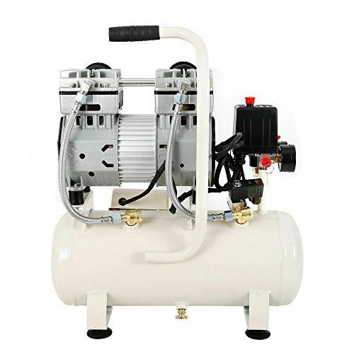 Compresor de aire silencioso Yunrux de 15 litros, 30 l, silencioso, sin aceite, caldera