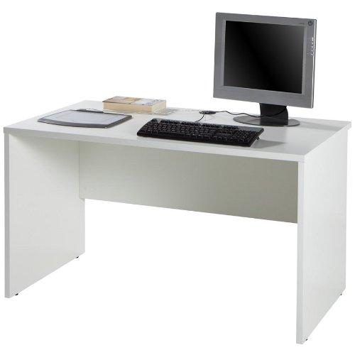 Scrivania modulare componibile postazione lavoro legno bianco SR4051 L120h70p70