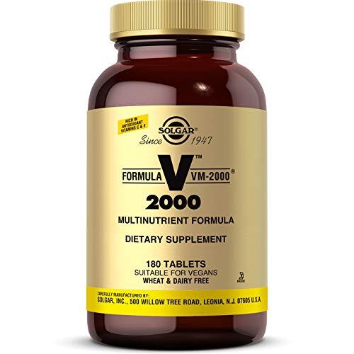 Solgar VM 2000 Multivitamin Mineralien 180 vegane Tabletten glutenfrei
