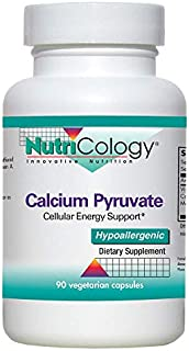 NutriCology Calcium Pyruvate 90 Vegetarian Capsules