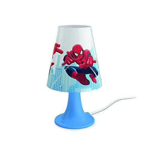 Philips Lampe de chevet LED Motif Spider Man Rouge
