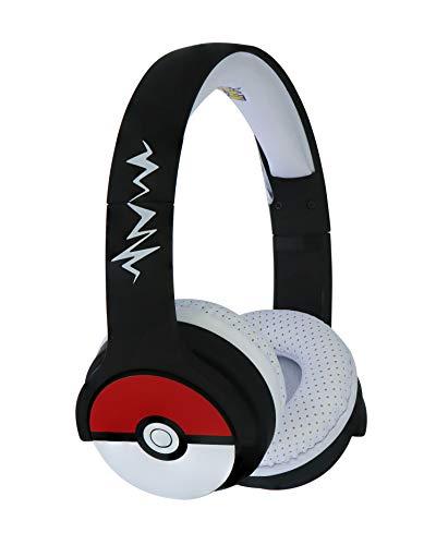 OTL PK0725 Pokemon Pokeball Kids - Auriculares inalámbricos con Bluetooth para niños