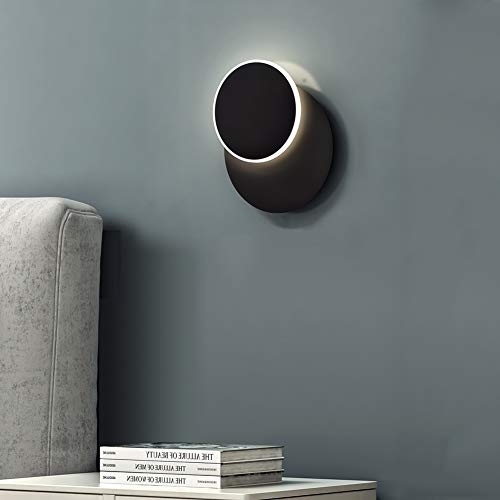 ZMH Wandleuchte LED Wandlampe Ihnen 7w 3000k Warmweiß drehbar Innenwandleuchten für Schlafzimmer Zimmer Restaurant Treppe Balkon Hotel