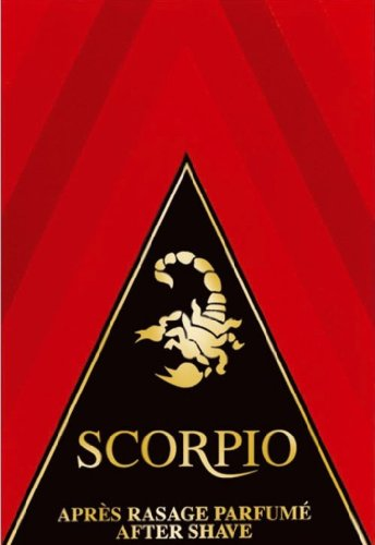 Scorpio Aftershave, rot, 100ml