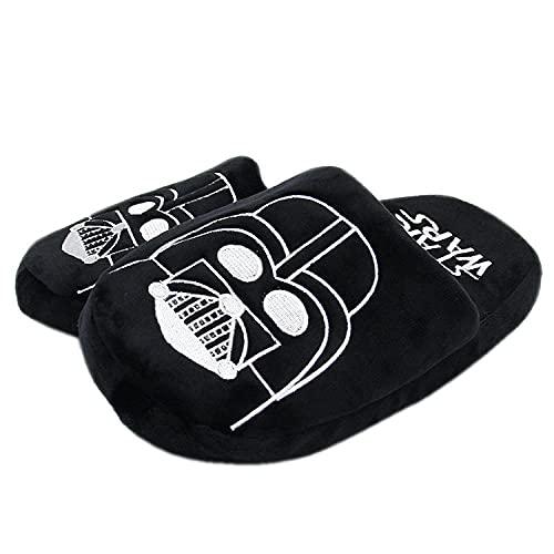 Y-PLAND Zapatillas de Felpa con Calavera Jack de Pesadilla Antes de Navidad, Zapatos de algodón para niños en el Piso de la casa de Invierno, 35-42One_Size