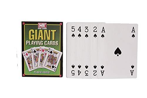 M.Y A4 Größe Riesenspielkarten - mit Kunststoff überzogen