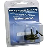 Husqvarna 531300354 Bar & Chain Oil Cap For 340, 345, 350, 351, 353, and 346XP