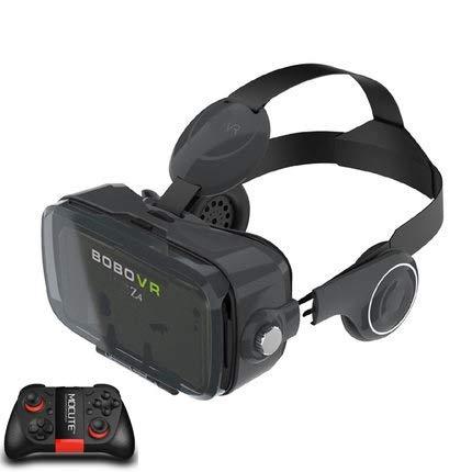 SIRENK Bobovr Z4 VR Virtual Reality Glasses 3D Occhiali VR Auricolare VR Casco Cardboad Bobo Box e Controller Bluetooth (Color : BlackMOCUTE)