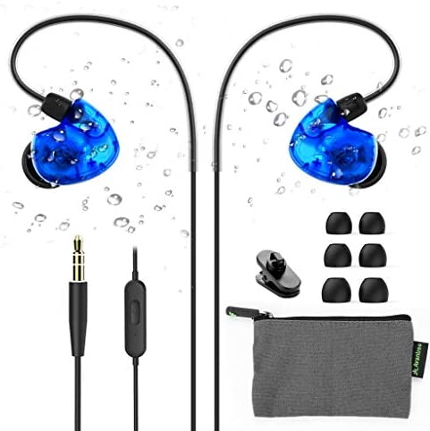 Avantree TR504 IPX5 Sweat Resistant Sport Earbuds Wired with Microphone for Small Ears Canals product image