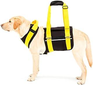 With(ウィズ) 歩行補助ハーネス LaLaWalk 大型犬用 ネオプレーン黒 M サイズ