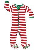 elowel | Pyjama Unisexe, Garcon, Fille | 1 Pièce | Vêtements De Nuit À Pied | Noel...