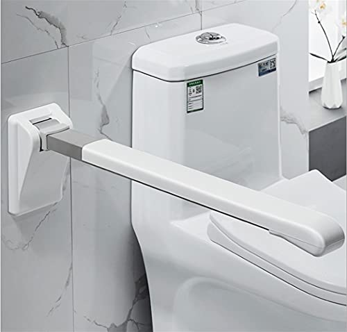 XRCK Toilet Folding Handrail Restroom Bathroom Elderly Pregnant Woman with Bell to Remind Anti-Slip Barrier-Free Assist Frame (Color : Normal Version)