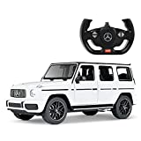 Uenjoy Remote Control Car Toy R/C 1:14 Mercedes-Benz G63 Genuine Authorization, Electric Sport Racing Hobby Toy Car, Model Vehicle, Gift for Boys Girls Adults-White