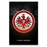Leinwandbild, Eintracht Frankfurt, moderne Drucke,