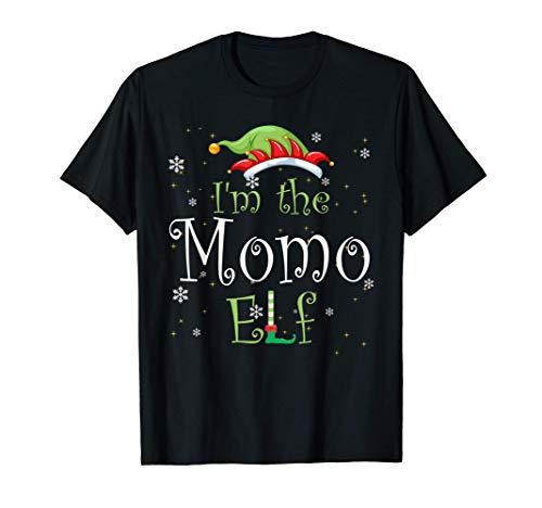 I'm The Momo Elf Christmas Gift Idea Xmas Family T-Shirt