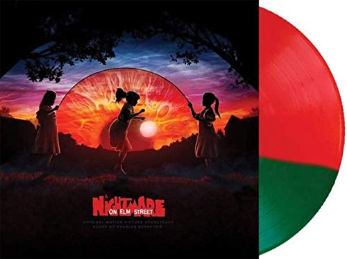 A Nightmare On Elm Street (Original Motion Picture Soundtrack) - Exclusive Limited Edition Red And Green Split Colored Vinyl LP