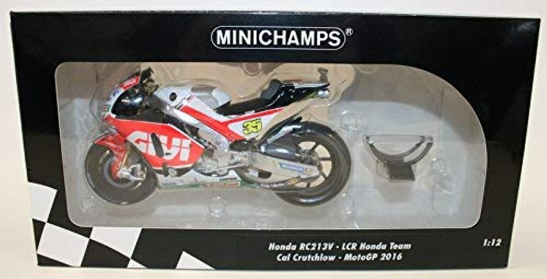 Minichamps 310.289.282,9cm 2016Honda rc213V LCR Honda Team Cal Crutchlow Druckguss-Modell, Mastab 1  12