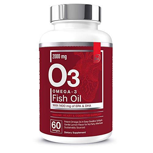 Omega-3 Burpless Fish Oil Supplemen…