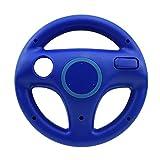 Controlador PS3 Juego de Carreras de la Rueda Volante for Wii Remoto regulador del Juego Personaje 5 (Color : WII111 Blue)