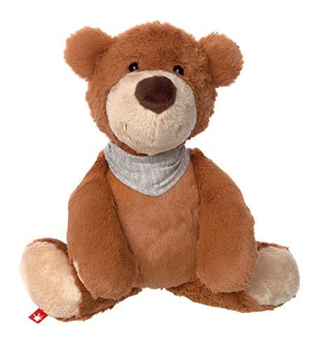 sigikid, Mädchen und Jungen, Stofftier Bär klein, Flobo Flunderberg, Sweety, Braun, 39001