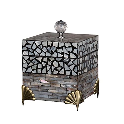 HUYHUJ Joyería Organizador Collar Pendientes Anillos Holder Jewelry Box Packaging Storage (Color : A)