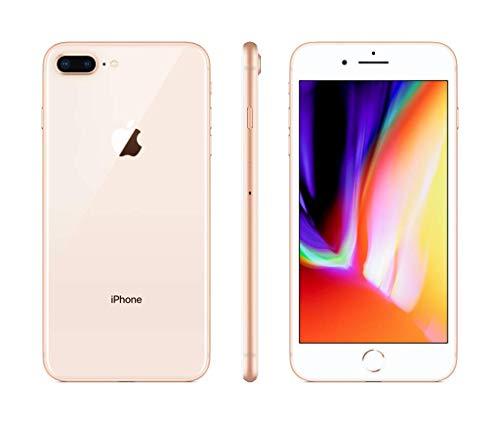 Apple iPhone 8 Plus 64GB Gold (Zertifiziert und Generalüberholt)
