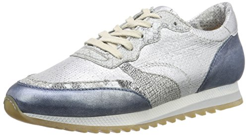 Mjus Damen 646109 Sneakers, Mehrfarbig (Jeans/Bianco/Iceberg/Jeans/Bianco), 42 EU