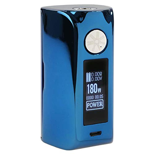 Preisvergleich Produktbild asMODus Minikin 2 / V2 MOD 180 W,  Riccardo e-Zigarette - Akkuträger,  blue chrome